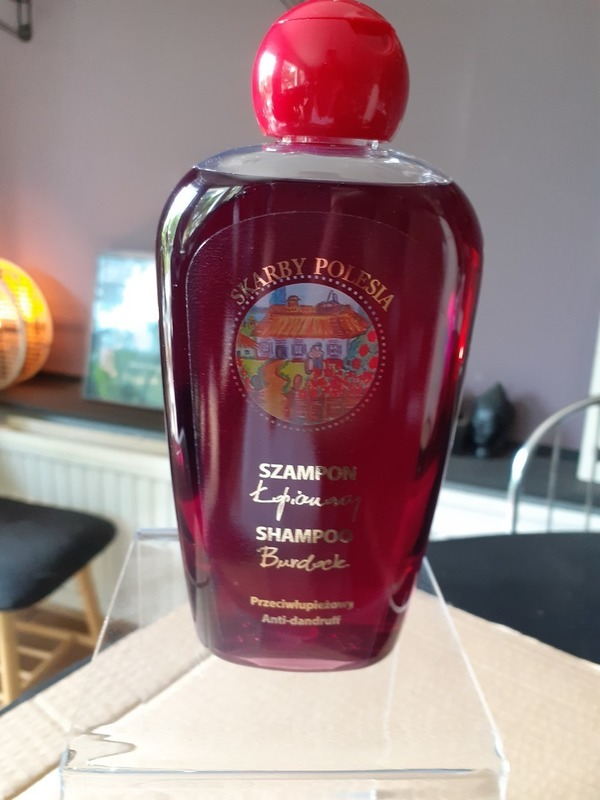 shampoing herbes de polésie (bardane) anti-pellicules